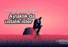 Prof. Dr. Sinan Canan: Aylaklık da ustalık ister!