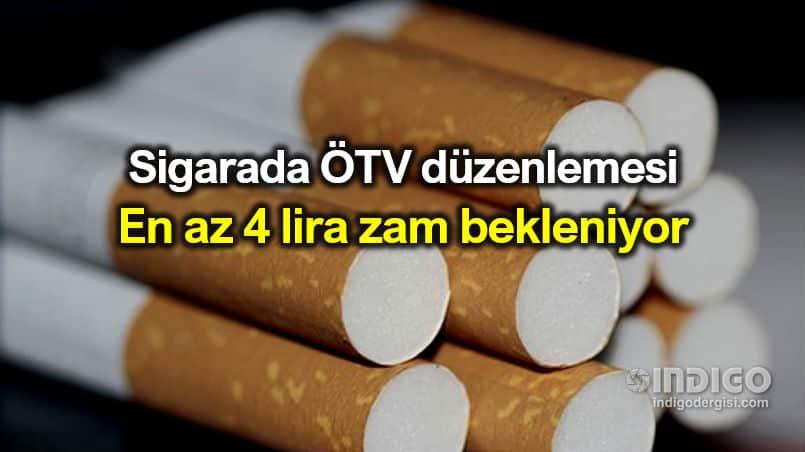 Sigara ÖTV düzenlemesi: 4 TL zam gelmesi gerekiyor
