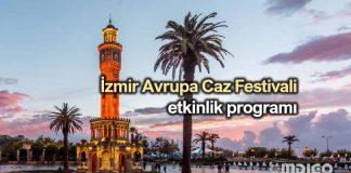 26. İzmir Avrupa Caz Festivali etkinlik programı