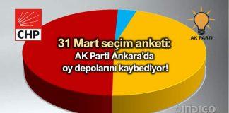 31 Mart son seçim anketi: AK Parti Ankara'da oy depolarını kaybediyor!