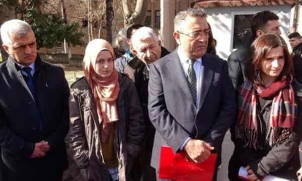 Ankara daki polis tacizi iddiasının düşündükleri