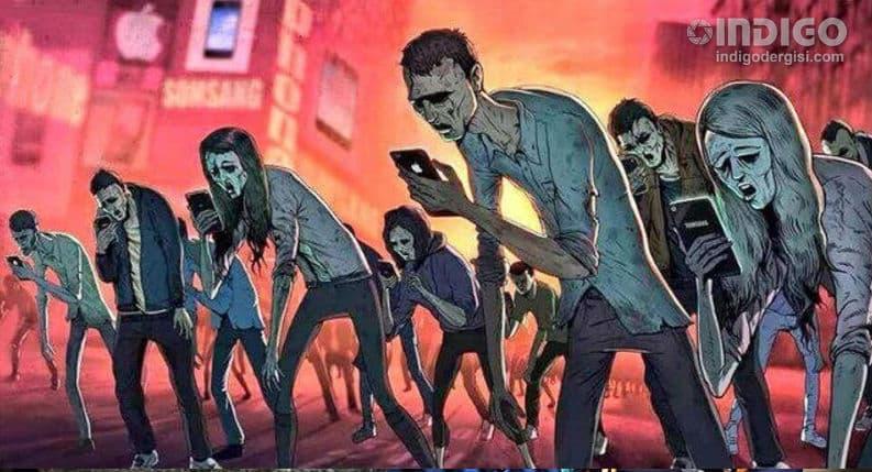 Akıllı telefon toplumlara depresif karakter yaratıyor!