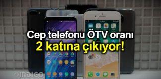 Cep telefonu ÖTV oranı yüzde 50'ye yükseltiliyor!