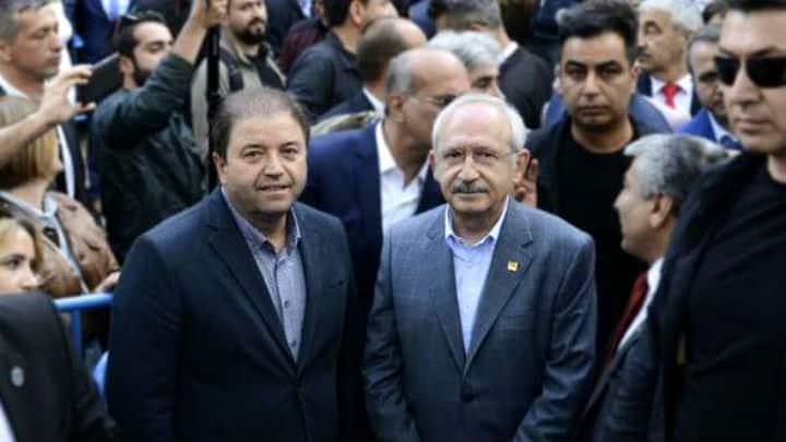 chp maltepe belediye başkanı ali kılıç ve kemal kılıçdaroğlu