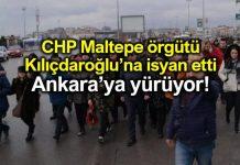 CHP Maltepe ilçe örgütü Ankara'ya yürüyor