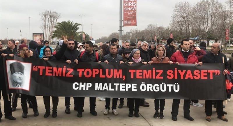 CHP Maltepe ilçe örgütü Kılıçdaroğlu'na isyan etti Ankara'ya yürüyor