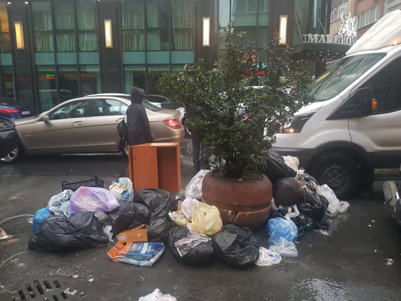 nişantaşı çöpler