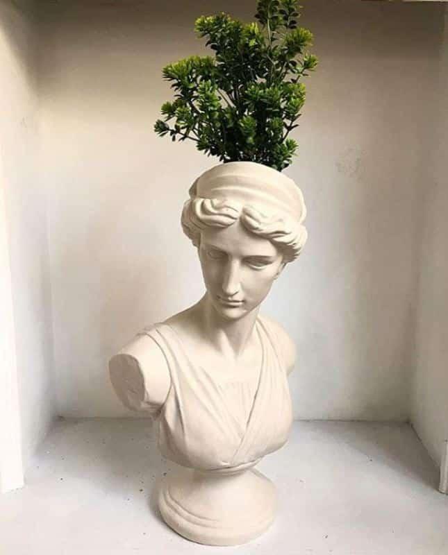 heykel büst tasarım dekor aksesuar