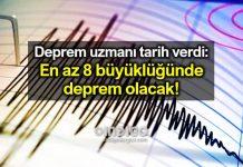 Deprem tahmincisi: 21 Şubat'ta 8 büyüklüğünde deprem olacak