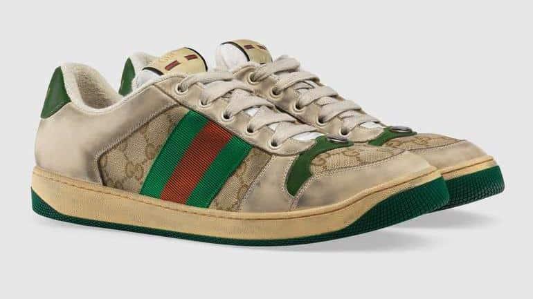 Gucci kirli spor ayakkabısı alay konusu oldu: Yağmurda temizlenme riski var