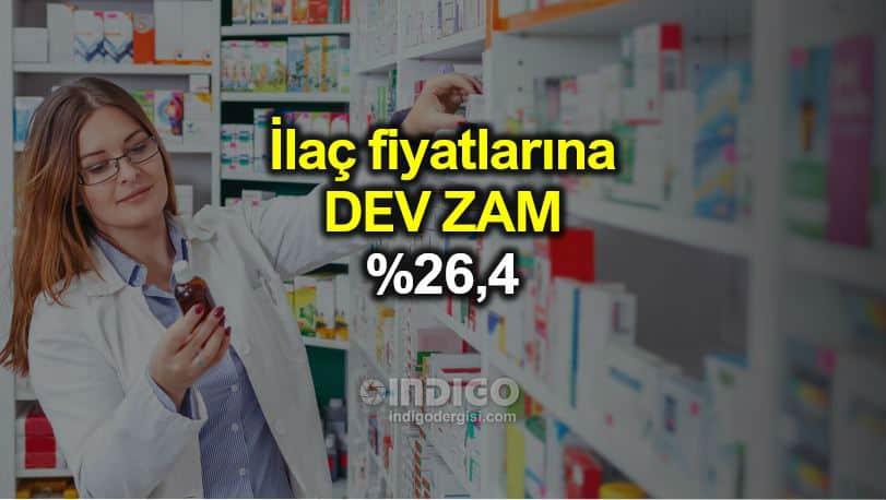 İlaç fiyatlarına yüzde 26,4 zam geliyor! Sağlık Bakanı açıkladı