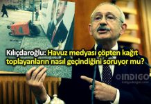 Kemal Kılıçdaroğlu: Çöpten kağıt toplayanların nasıl geçindiğini soruyorlar mı?