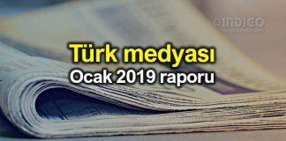 Türk medyası: 2019 Ocak ayı raporu
