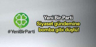 Yeni Bir Parti yenibirparti Siyasetin gündemine bomba gibi düştü!