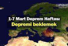 1-7 Mart Deprem Haftası: Depremi beklemek
