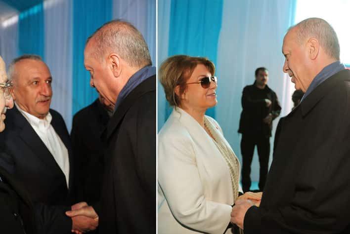 Tansu Çiller ve Mehmet Ağar da katıldı cumhur ittifakı ortak miting