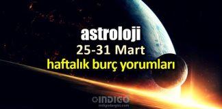 Astroloji: 25 - 31 Mart 2019 haftalık burç yorumları