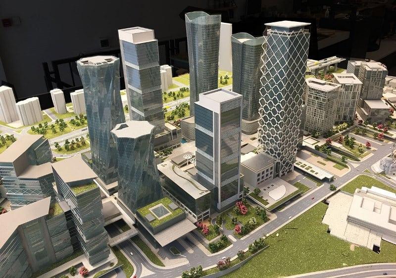 İstanbul Finans Merkezi ataşehir finance center blueprint
