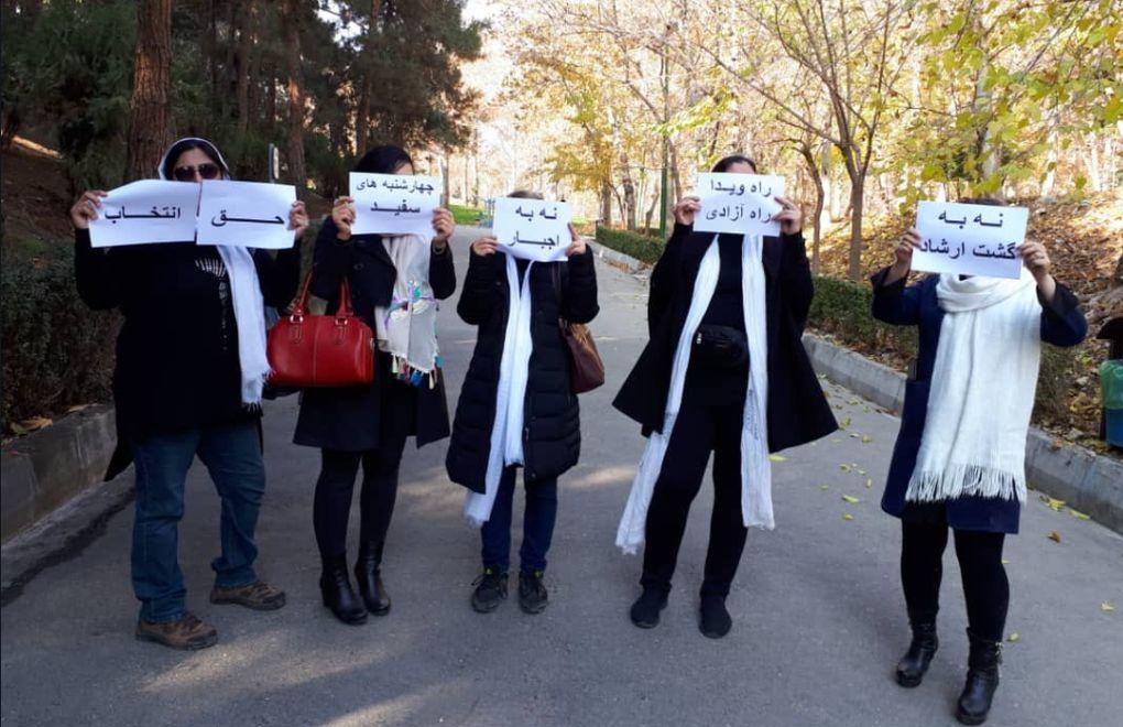 İran Beyaz Çarşamba eylemleri şeriat kadın olmak