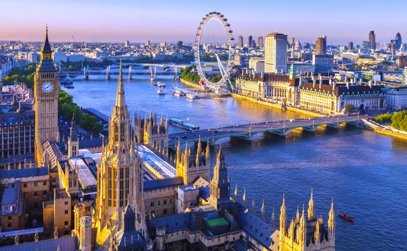 Birleşik Krallık ingiltere londra london gezilecek yerler en çok ziyaretçi ziyaret