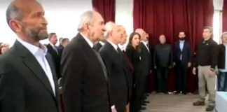 CHP İstanbul Adalar adayı Erdem Gül İstiklal Marşı okumadı