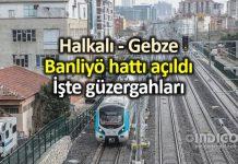 Halkalı - Gebze banliyö tren güzergahı ne olacak?