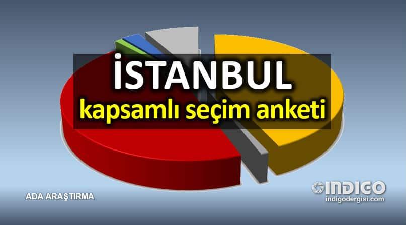İstanbul için kapsamlı seçim anketi (ilçe ilçe anketler)