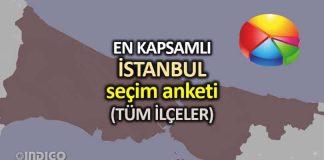 En kapsamlı İstanbul seçim anketi (ORC Araştırma) ilçeler son anketler