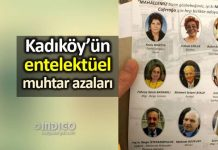Kadıköy Caferağa Mahallesi entelektüel muhtar azaları