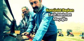 Komünist başkan Fatih Mehmet Maçoğlu Tunceli adayı