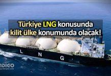 LNG nedir? Türkiye kilit ülke sıvılaştırılmış doğal gaz enerji sektörü