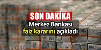 Merkez Bankası faiz kararı belli oldu: Yüzde 24 seviyesinde sabit