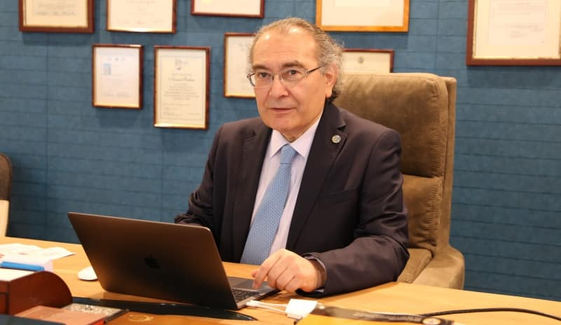 Üsküdar Üniversitesi Rektörü Psikiyatrist Prof. Dr. Nevzat Tarhan