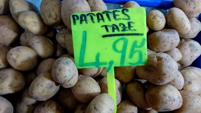 patates fiyatları sebze fiyatları