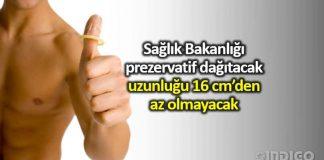 Sağlık Bakanlığı prezervatif dağıtacak: 16 cm'den az olmayacak