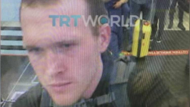 Tarrant'ın Türkiye'de bulunduğuna dair fotoğraf: