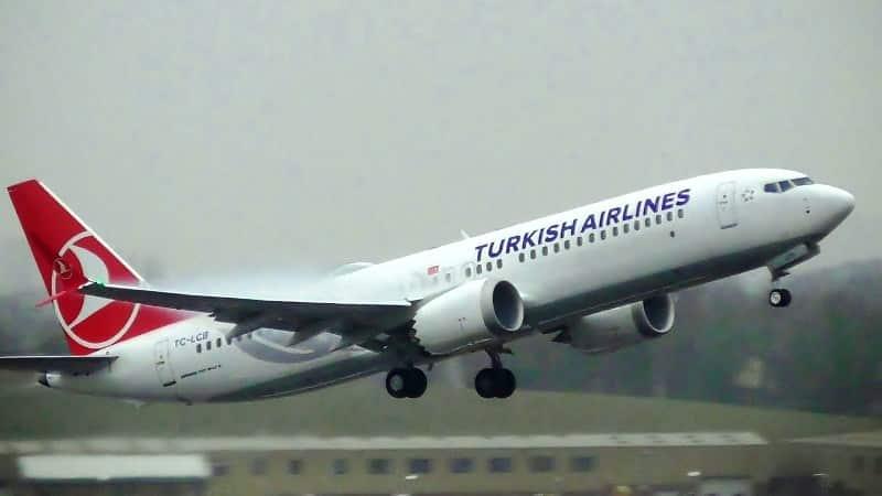 thy türk hava yolları turkish airlines fleet boeing 737 max 8