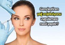 Yağ enjeksiyonu estetik yöntemi yaşlanma etkisini azaltıyor cilt gençleştirme ücreti fiyatı