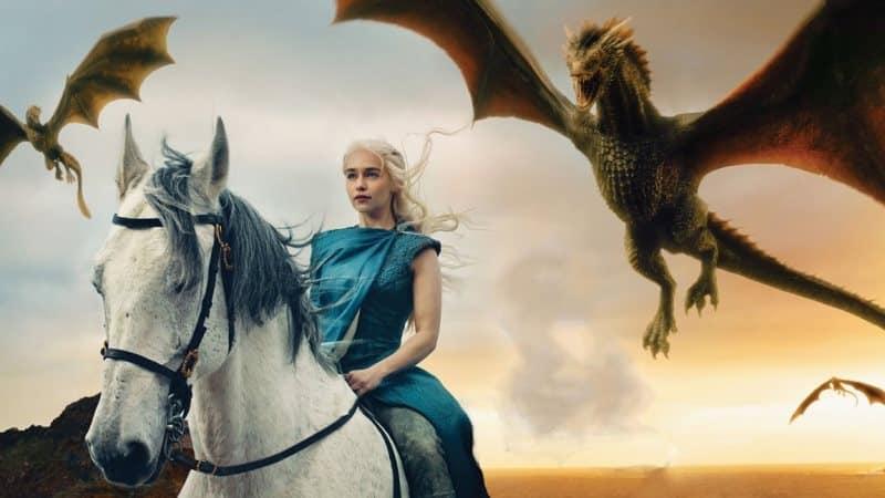 Emilia Clarke khaleesi mother of dragons iron throne