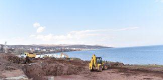 Ahlat Cumhurbaşkanlığı Köşkü inşaatı van gölü
