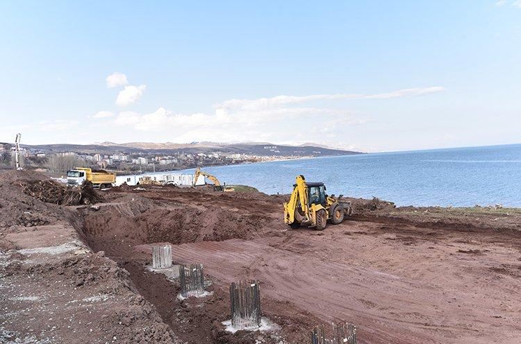 Ahlat Van Gölü cumhurbaşkanlığı köşkü inşaatı Erdoğan