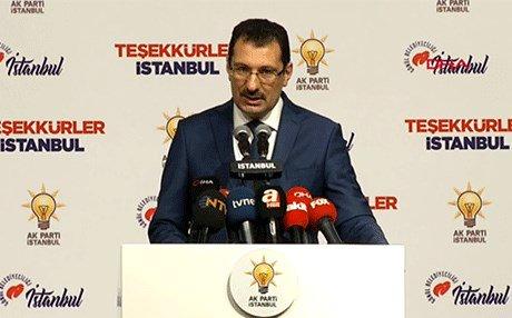 ak parti ali ihsan yavuz istanbul oyların tamamının yeniden sayılması için ysk ya başvuru