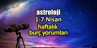 Astroloji: 1 - 7 Nisan 2019 haftalık burç yorumları