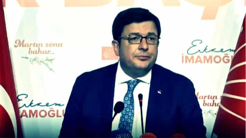 CHP Muharrem Erkek: Cumhurbaşkanı nın mazbatası da iptal edilebilir