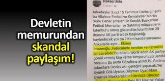 Devletin memurundan ahlaksız sözler; CHP suç duyurusunda bulundu