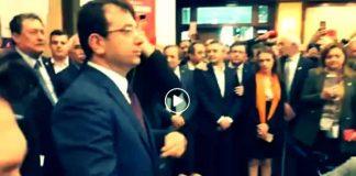 Ekrem İmamoğlu İBB binasında devir teslim töreninde