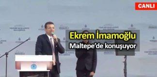 Ekrem İmamoğlu ile Maltepe Büyük İstanbul Buluşması