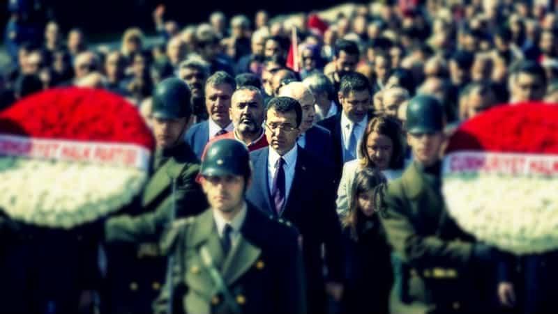 Cumhurbaşkanı Erdoğan Ekrem İmamoğlu Anıtkabir çıkışı