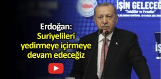 Erdoğan: Suriyelileri yedirmeye içirmeye devam edeceğiz bolu belediye başkanı tanju özcan