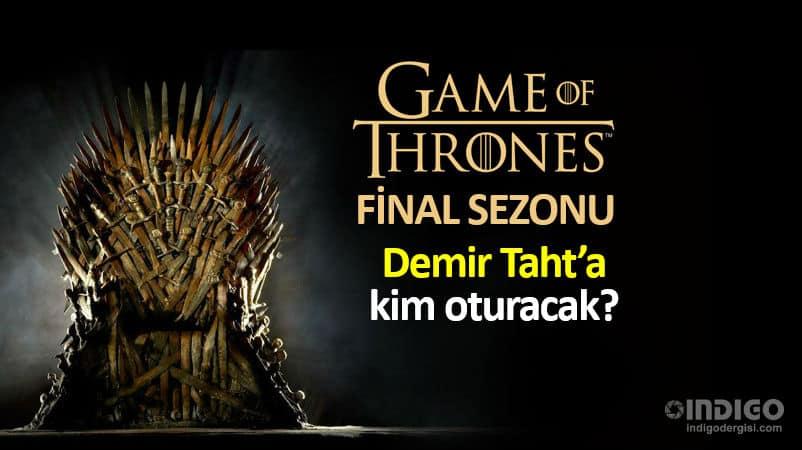 Game of Thrones final sezonu başlıyor: Demir Taht oyunları izle
